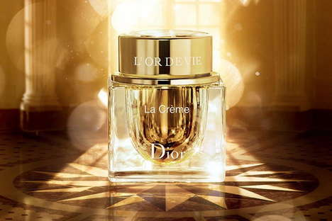 Golden Aristocratic Cosmetic Collections