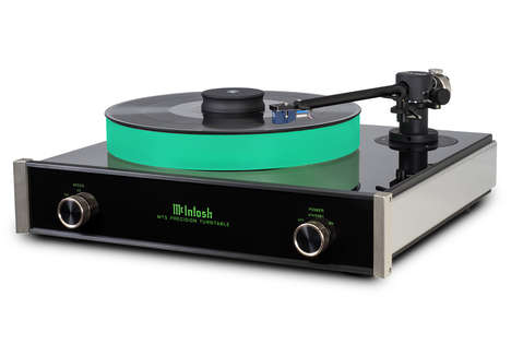 Luminous Record Players