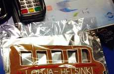 Cookie Currency-Based Buses - Matkahuolto Hands Out Free Tickets in Return for Festive Cookies