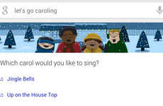 "Festive Search Engine Karaokes - Android Users Who Search ""Let's Go Caroling"" Will Get a Surprise"