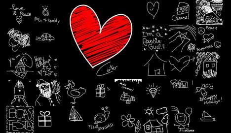 Philanthropic Virtual Drawing Walls