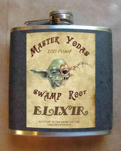 Alien Elixir Flasks