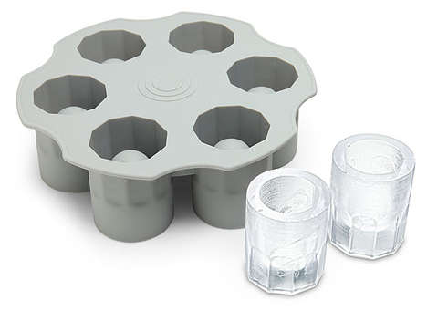 Frozen Barrel Shot Glasses - Your Ice Shot Glass Will Runneth Over, Most Likely with Alcohol