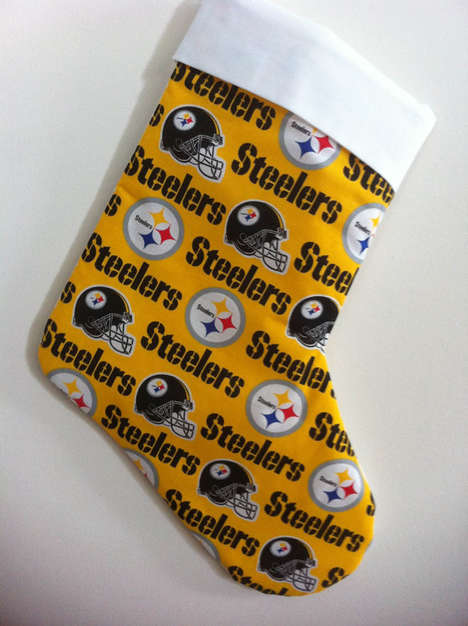 Sports-Obsessed Christmas Stockings