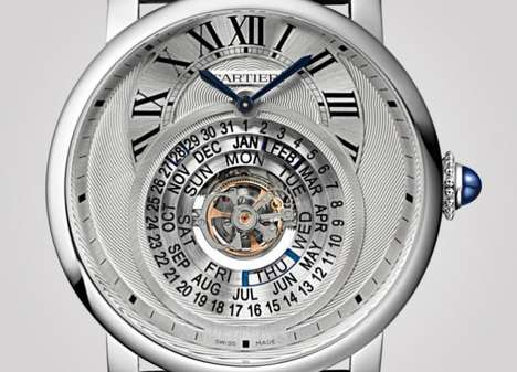 Calendar-Equipped Timepieces