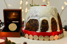 $20,000 Christmas Puddings - The Royal Mint's Christmas Puddings Are Loaded with Coins for Luck