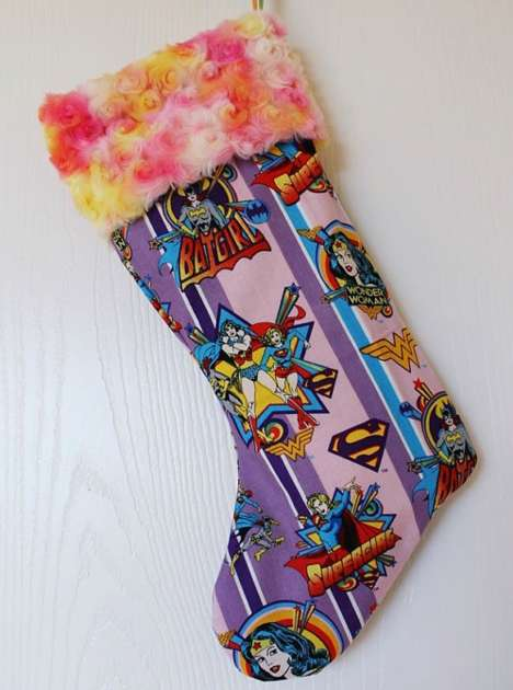 Female Superhero Stockings