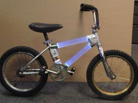 Luminescent Bike Frames