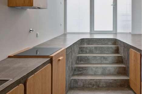 Kitchen Counter Floors