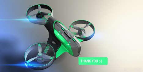 Unmanned Medic Drones