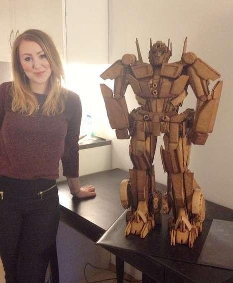 Edible Transforming Robots