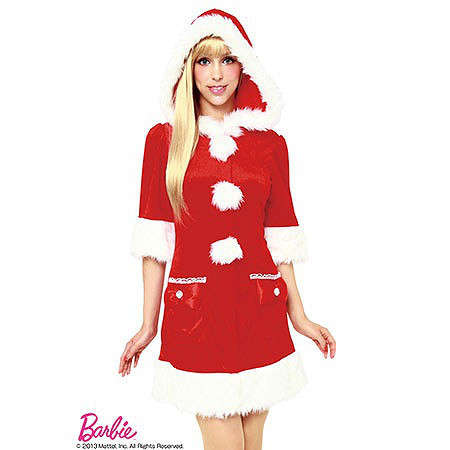 Sultry Barbie Christmas Costumes