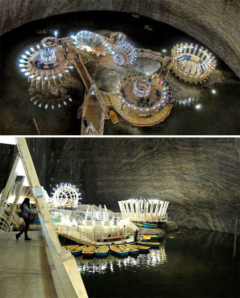 Subterranean Salt Museums