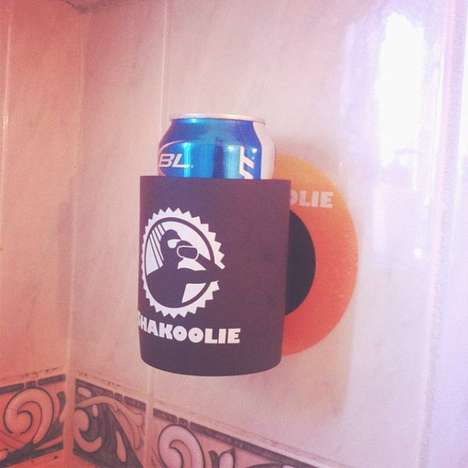 Bathroom Brew Holders - You Can Drink While Taking a Shower with the Shakoolie Shower Beer Holder