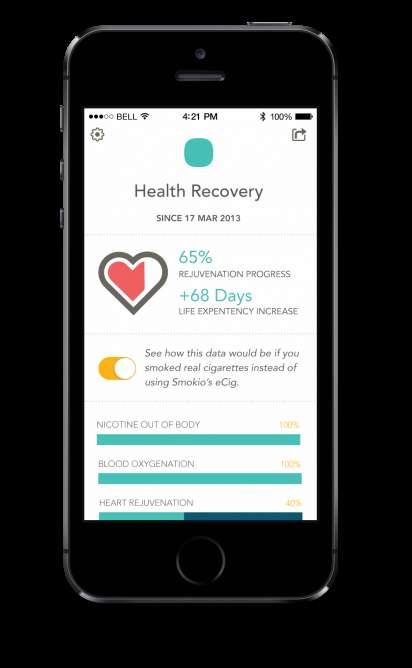 Health-Monitoring E-Cigs