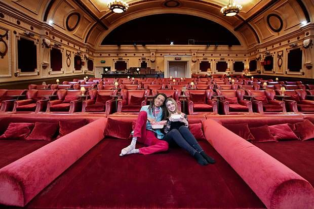 Bed-Infused Cinematic Seats