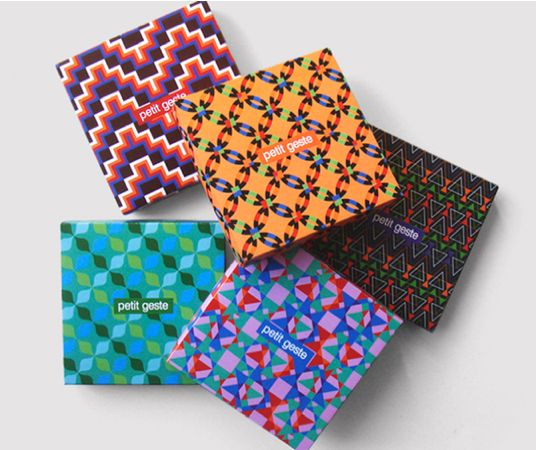 76 Vibrantly Patterned Packages
