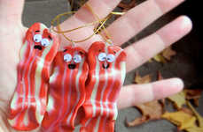 Bacon Christmas Ornaments