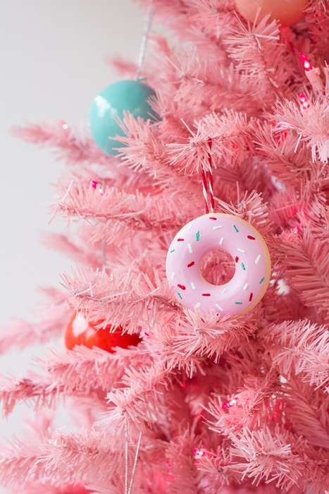 Delectable Donut Decorations - These DIY Donut Ornaments are Ideal for Those Who Have a Sweet Tooth