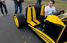 Automotive LEGO Creations - This Impressive LEGO Car Built by Raul Oaida is Actually Drivable