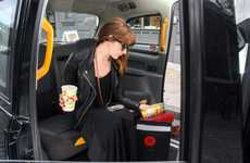 Hangover-Curing Cab Rides - The Kab-U-To Work Taxi Serves Soup, Orange Juice and Mints