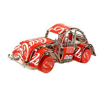 Soda Can Car Sculptures