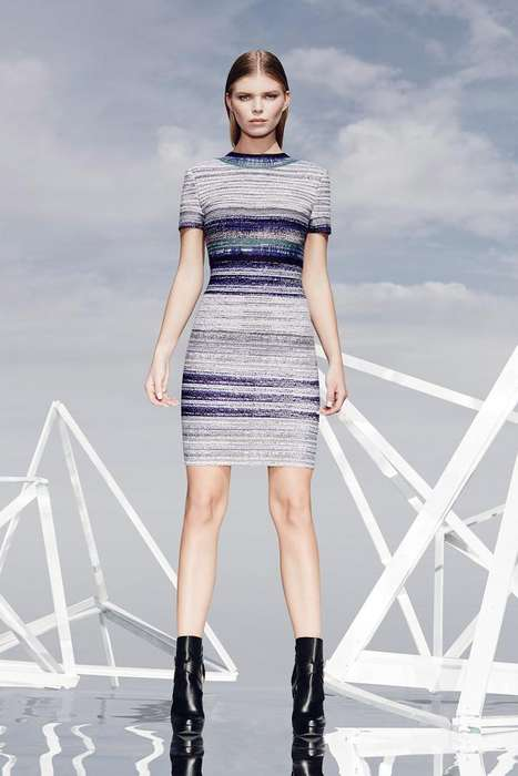 Form-Fitting Patterned Fashion