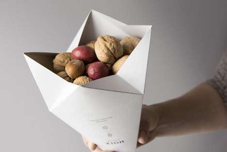 Origami Snack Packaging
