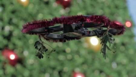 Delightful Mistletoe Drones