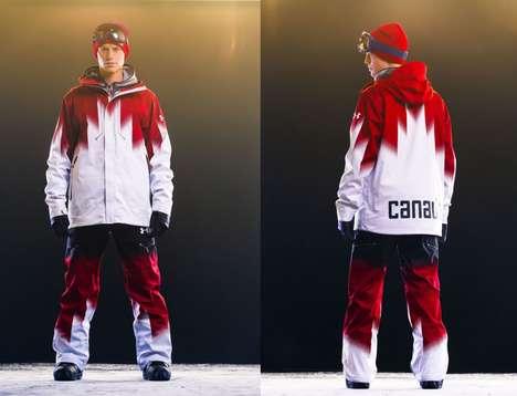 Nationalistic Snowboarding Gear