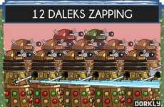 Sci-Fi Christmas Carols - The 12 Days of Doctor Who is a Geeky Twist on the Festive Song