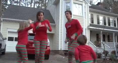 Pajama'd Family Holiday Videos