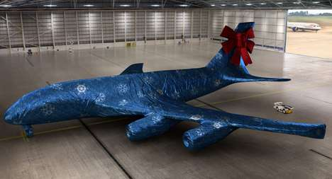 Virtual Jet-Unwrapping Contests - British Airlines' Christmas Giveaway Rewarded Fans with Presents
