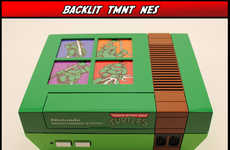 Retro Turtle Consoles - The TMNT Custom NES is Perfect for 80s Gamers