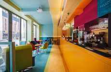 Chromatic Bohemian Bistros - The Vibrant Bistro in Poland is Tailored to Free-Spirited Personalities
