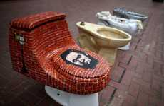 Transformed Toilet Artworks - These Toilet Artworks Were Made to Raise Awareness About the Homeless
