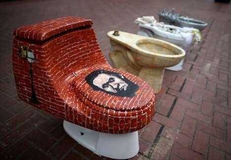 Transformed Toilet Artworks