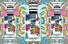 Pattern-Mixing Perfume Packaging
