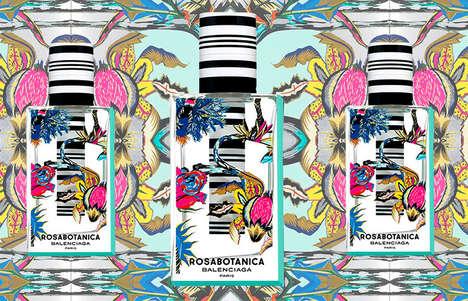 Pattern-Mixing Perfume Packaging