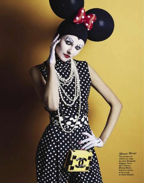 Chic Disney Editorials - This Editorial by Christian Anwander is Called 'Disney Story'