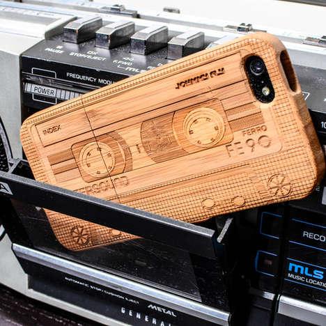 Retro Cassette Phone Cases