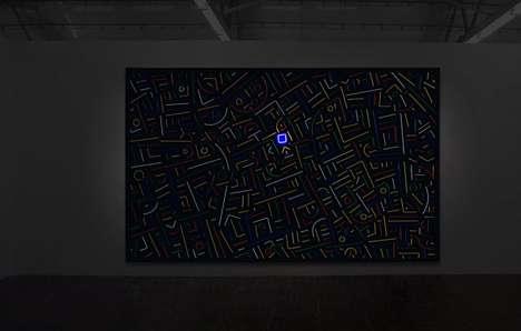 Luminescent Cityscape Installations