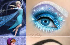 Frosty Princess-Inspired Makeovers - This Disney-Inspired Makeup Goes Ice Queen Style