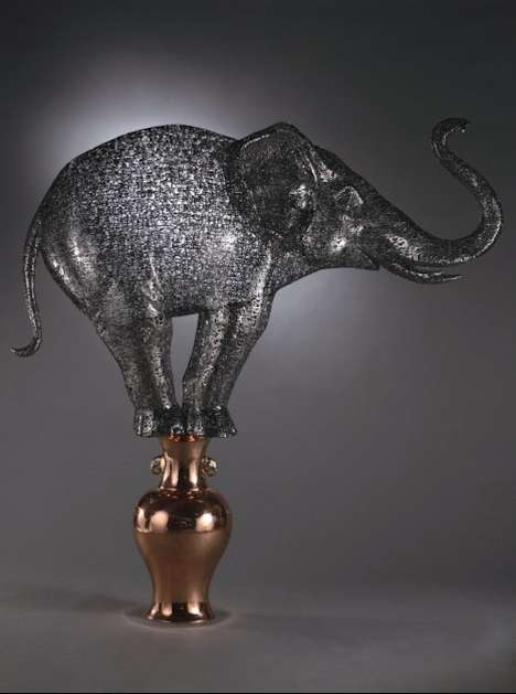 Steel Literary Sculptures