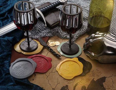 Fantasy Wax Seal Coasters