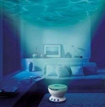 Calming Underwater Projectors - This Wave Projector Will Calm You Down and Lull You to Sleep
