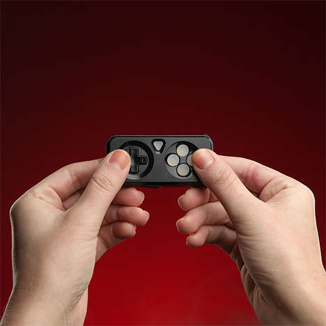 Miniature Mobile Gaming Controllers