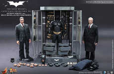 Collectible Superhero Armory Sets - The Dark Knight Armory Collection is a Comprehensive Collectible