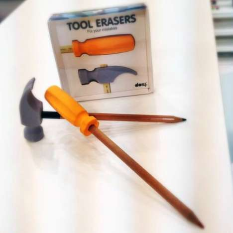 Attachable Tool-Like Erasers