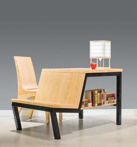 3-in-1 Multifunctional Tables - The Pi Workstation by Joe Manus is Perfect for Small Spaces